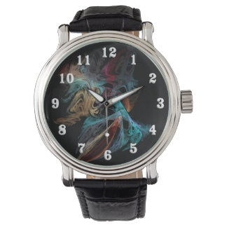 Smokey Fractal Watch