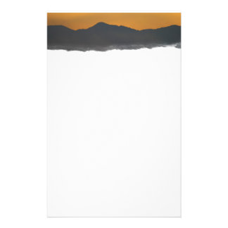 Smokey Mountain Sunrise Customized Stationery