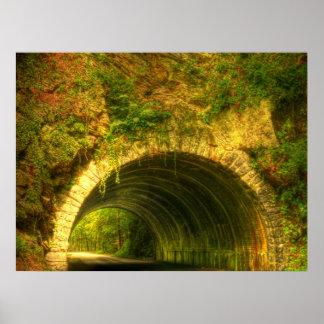 Smokey Mountain Tunnel Poster