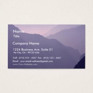 Smokey Mountains Haze Business Card