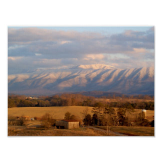 Smokey Mountains, Tennessee Poster
