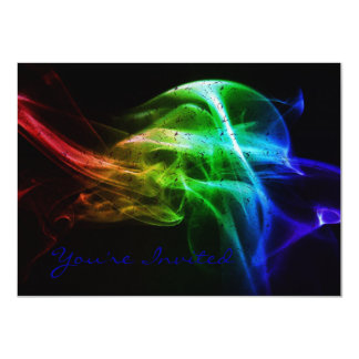Smokey Rainbow Card