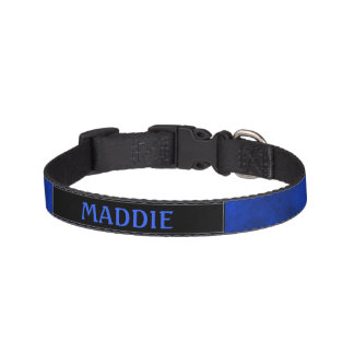 Smokey Sapphire Blue Pet Collar