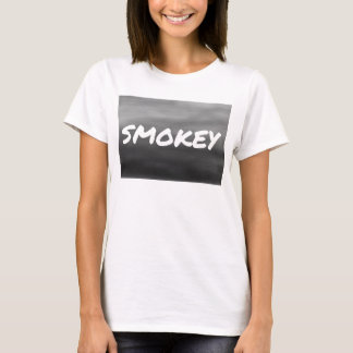 Smokey Statement Logo Basic Women's T-shirt