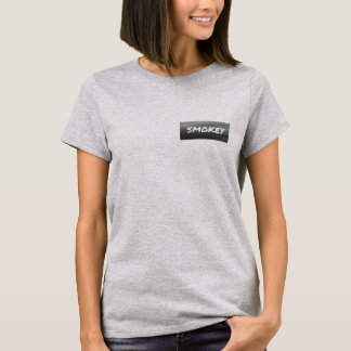 Smokey Statement Logo Women's T-shirt On Top Left