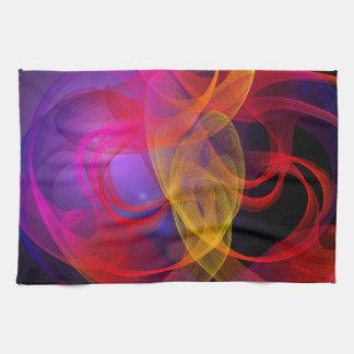 Smokey Swirls Tea Towel