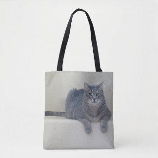 Smokey the cat Tote Bag