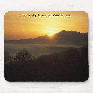Smokies Sunrise, Great Smoky Mountains National... Mouse Pad