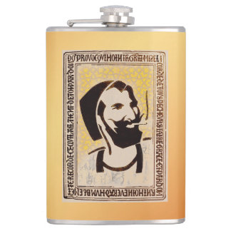 Smokin' Berber Bronze Flask