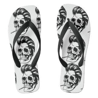 Smokin' Hip Greaser Skull Thongs