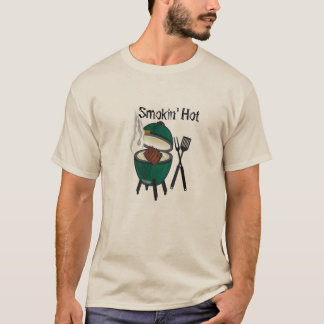Smokin' Hot Big Green Egg T-Shirt