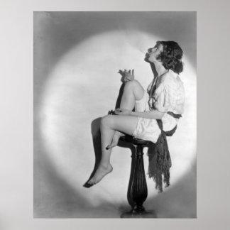 Smokin' Profile: 1922 Poster