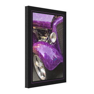 Smokin' Purple Canvas Print