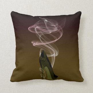 Smokin' Stiletto High Heel Shoe Art Pillow