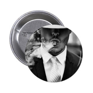 smokin weed products 6 cm round badge