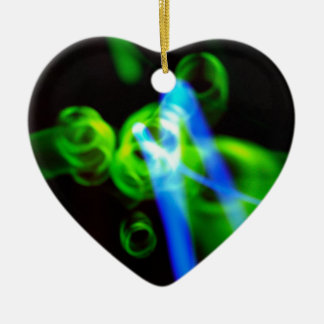 SMOKING BLUE - Heart Ornament