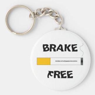 Smoking Brake free keychain