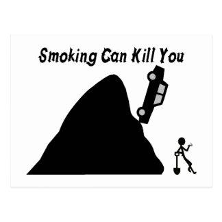 Smoking Can Kill You Postcard