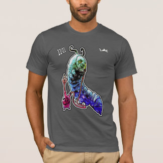 Smoking Caterpillar psycadelic t-shirt - dmt 11:11