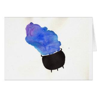 Smoking Cauldron Card