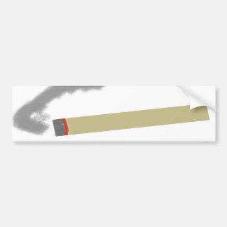 Smoking Cigarette Bumper Sticker