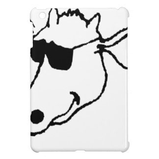 Smoking Cow with Sunglasses iPad Mini Case