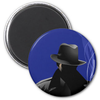 Smoking Detective Magnet