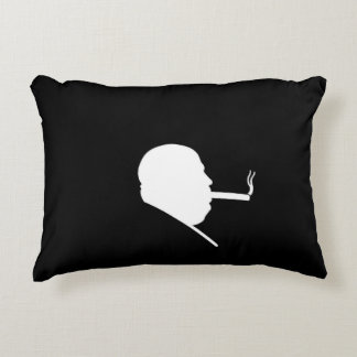 Smoking Gangster Brushed Polyester Accent Pillow