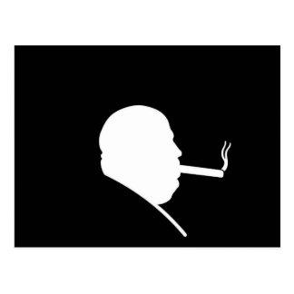 Smoking Gangster PostCard