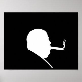 Smoking Gangster Poster