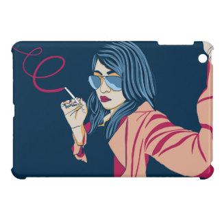 Smoking Girl Case For The iPad Mini