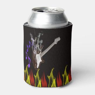 Smoking Guitar Can Cooler