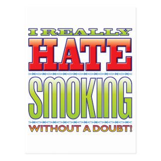 Smoking Hate Post Card