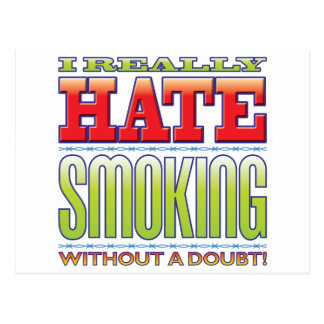 Smoking Hate Post Cards