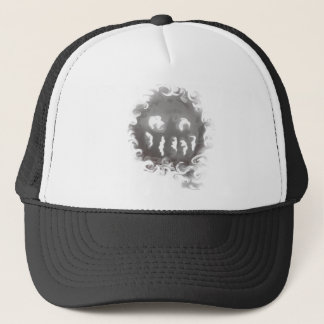 Smoking Joker Trucker Hat