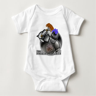 SMOKING KNIGHTS BABY BODYSUIT