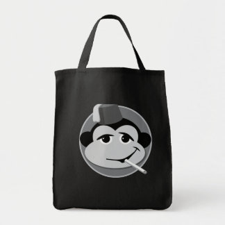 smoking monkey totey tote