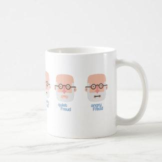 Smoking mug, quiet and Angry Freud Coffee Mug