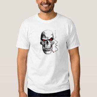 Smoking Skull T Shirt