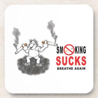 SMOKING SUCKS STOP COASTER