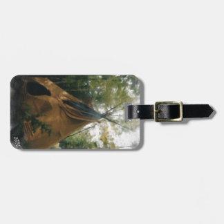 Smoking Tipi Luggage Tag