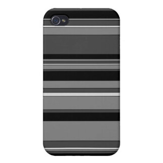 Smoky Ash Striped iPhone 4 Case