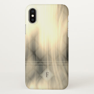 Smoky & Faded Abstract Monogram | iPhone X Case