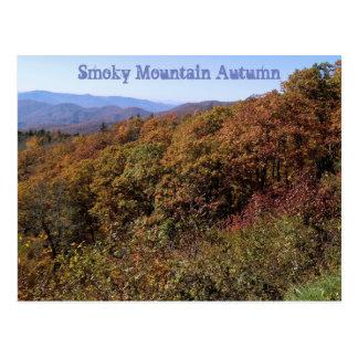 Smoky Mountain Autumn Postcard