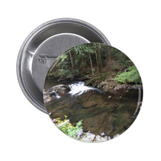 Smoky Mountain Creek 6 Cm Round Badge