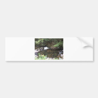 Smoky Mountain Creek Bumper Sticker