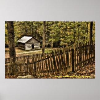 Smoky Mountain Past Poster