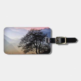Smoky Mountain Sunset from the Blue Ridge Parkway Bag Tag