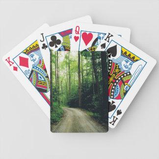 Smoky Mountain Trail Ride Poker Deck