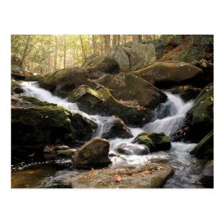 Smoky Mountain Waterfall II Post Card